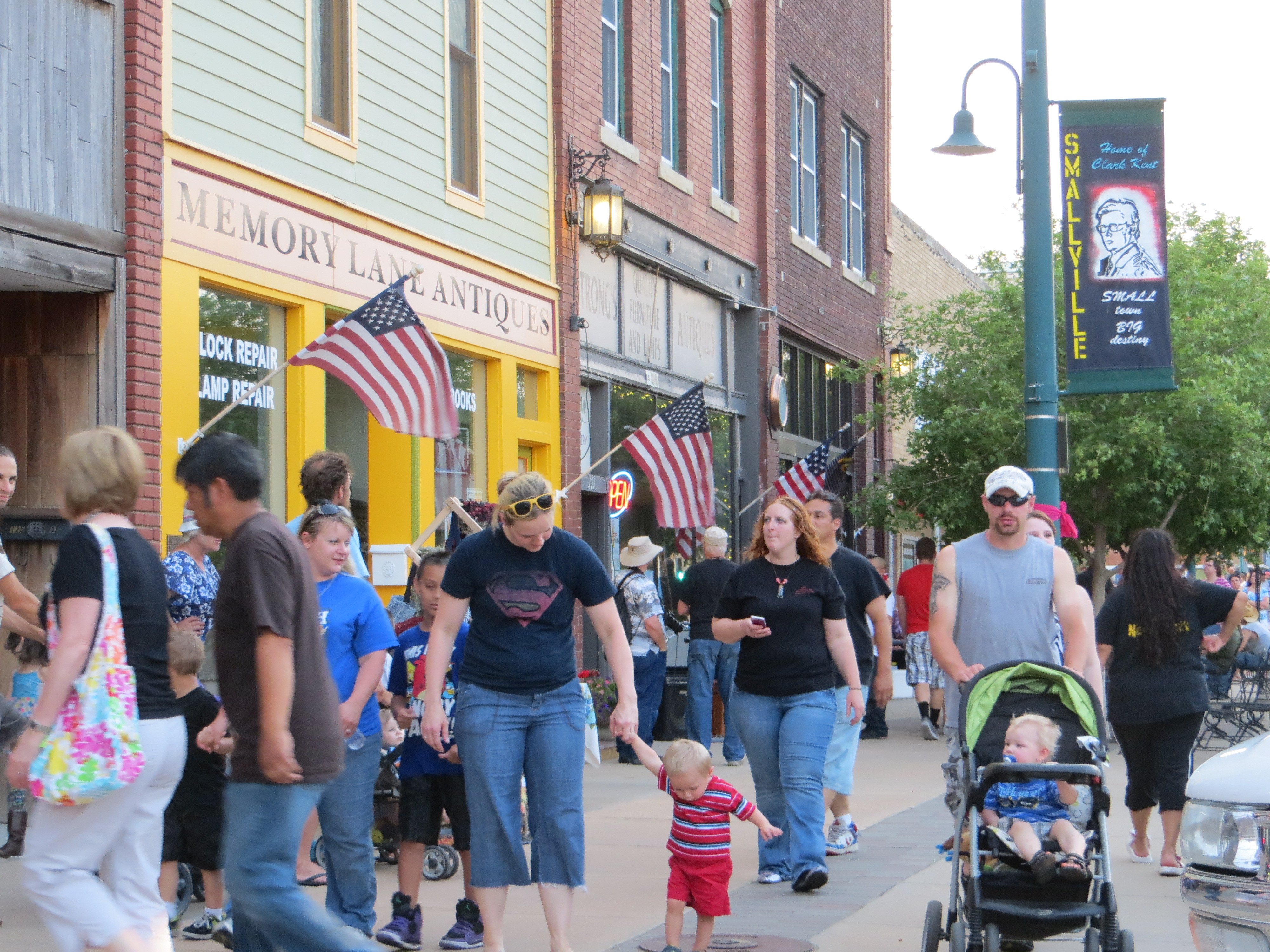 Smallville Day In Hutchinson And Why It S A Great Thing For
