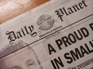 smallville newspaper
